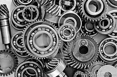 metal gears stock photo image