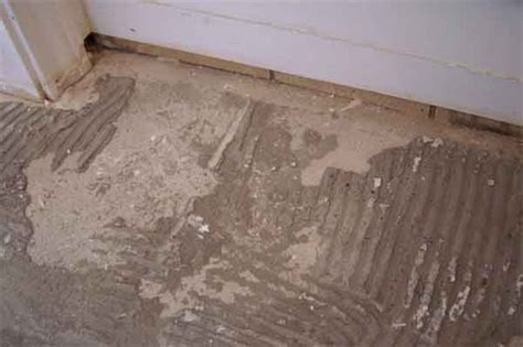 what are the steps to removing floor tiles and thinset dustless tile removal