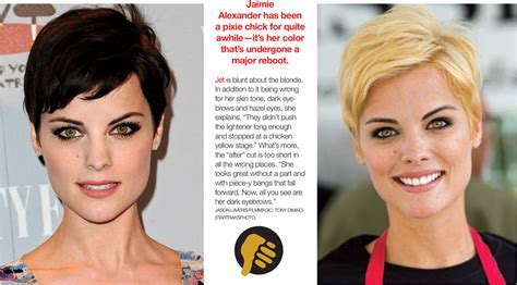Short Hair: Celebrity Makeovers this minute! ? Jet Rhys