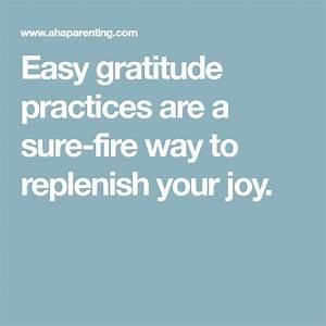 Easy Gratitude Practices Are A Sure