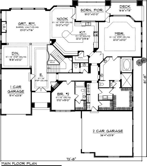 house plans with kitchen in front house plan 70 1064 3 194 sq ft remove bump out window