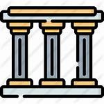 Pillars Icon Premium Icons