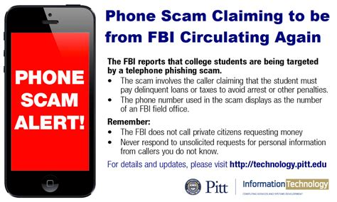 report fraud phone number reminder beware of telephone scam claiming to be from fbi
