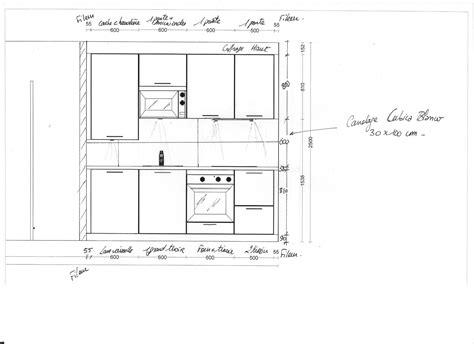 meuble de cuisine plan de travail meuble haut de cuisine quelle hauteur mobilier design