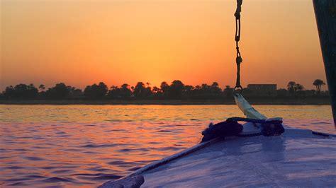 egypt nile sunset windows hd wallpaper preview