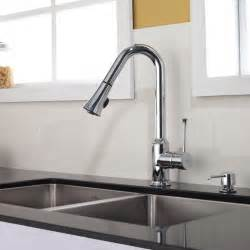 faucet for kitchen kraus single lever pull out kitchen faucet chrome kpf 1650ch modern kitchen faucets