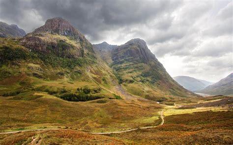 HD Glencoe Valley In The Scottish Highls Wallpaper ...