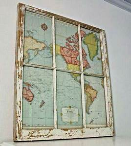 old window frames projects wwwpixsharkcom images With kitchen cabinets lowes with map of the world wall art
