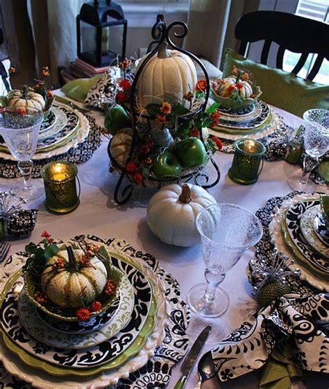 Elegant Black And White Thanksgiving Decor Ideas Digsdigs