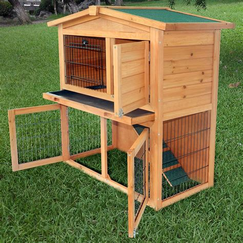ideas interesting rabbit hutch  outdoor pet house