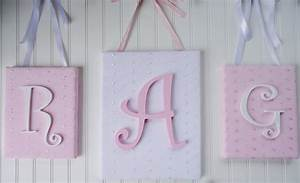 Letters for nursery wall thenurseries for Wall letter designs