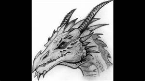 How To Draw a Dragon Head Step By Step For Beginners New ...