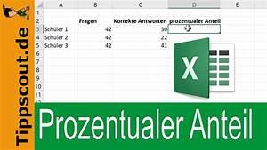 Leibrente Berechnen Excel : excel prozentualer anteil schnell ausgerechnet ~ Watch28wear.com Haus und Dekorationen