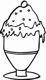 Coloring Dessert Pages Desserts Printable Food Ice Cream Cliparts Coloringpages101 Colouring Getcoloringpages Coloringbookfun sketch template
