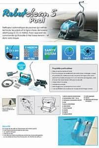 Nettoyer Ligne D Eau Piscine : robot piscine lectrique robotclean 5 ubbink fond murs ~ Dailycaller-alerts.com Idées de Décoration