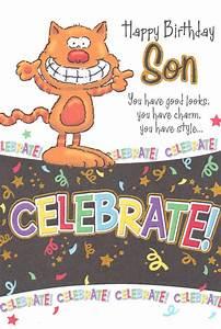 Wholesale Birthday Son Humorous Greeting Card 16994 1