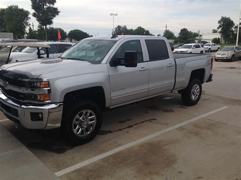 New Truck 2015 by New Truck Bought 2015 Chevy 2500 Hd Leveling Kit The