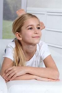 10 Jährige Mädchen : portr t von 10 j hrigen blonden m dchen stockfoto 6698180 ~ Lizthompson.info Haus und Dekorationen