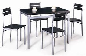 Chaise Cuisine Pas Cher : table cuisine contemporaine solde ~ Melissatoandfro.com Idées de Décoration