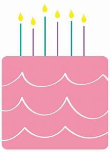 Happy Birthday Cake Clipart - The Cliparts