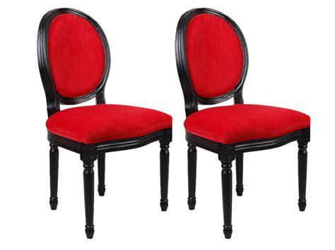 chaise de bureau sport chaises louis xvi tissu effet velours 3 coloris