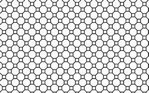 Clipart - Seamless Geometric Line Art Pattern