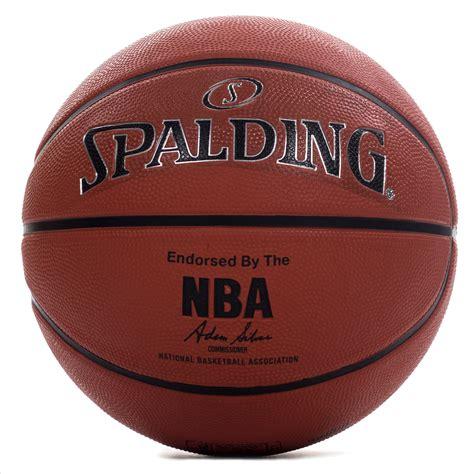 spalding nba silver copmposite leather outdoor basketball