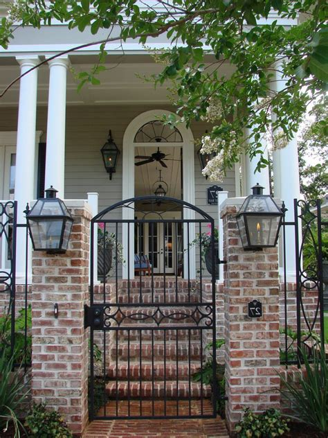 brick gate entrance designs video   madlonsbigbearcom