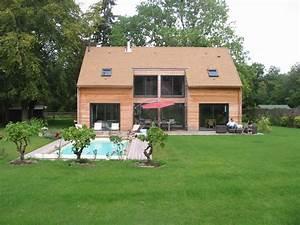 Maison En Bois Tout Compris : maison en bois moderne dans les yvelines 78 ~ Melissatoandfro.com Idées de Décoration