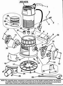 Craftsman Router Parts