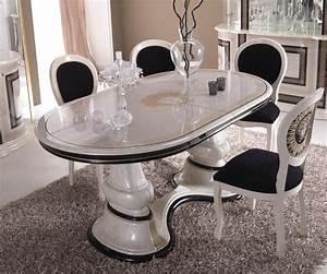 Esstisch Stühle Beige : esstisch oval medusa und meander dekor luxus stilm bel italien design beige ebay ~ Frokenaadalensverden.com Haus und Dekorationen
