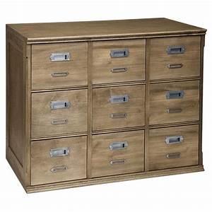 Meuble à Tiroir : meuble tiroir firmin ~ Melissatoandfro.com Idées de Décoration