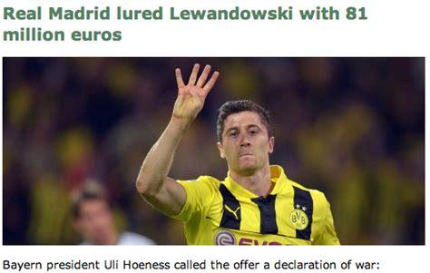 Lewandowski Memes - real madrid tried to gazump bayern offering lewandowski an 81m 6 year deal but they failed