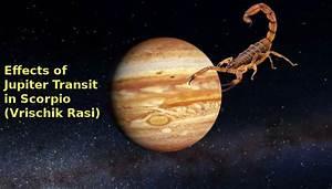 Jupiter transit in SCORPIO (Vrischik Rasi) 2018-19 ...