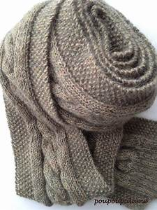 Echarpe Homme Tricot : tuto tricot echarpe homme xy18 jornalagora ~ Melissatoandfro.com Idées de Décoration