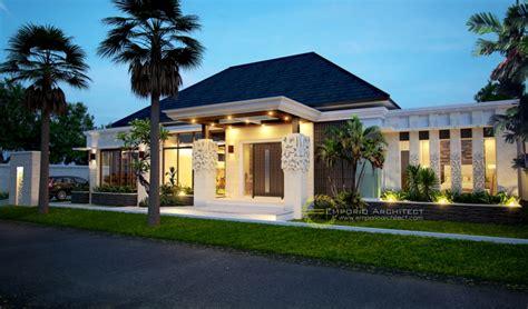 desain rumah mewah    lantai style villa bali modern