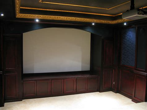 Home Theater Cabinets  By Brianarice @ Lumberjockscom