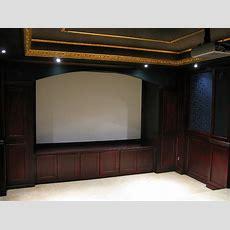 Home Theater Cabinets  By Brianarice @ Lumberjockscom