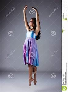 Female Modern Dancer Royalty Free Stock Image - Image ...