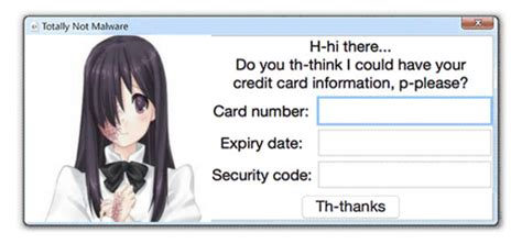totally not malware template totally not malware katawa shoujo know your meme
