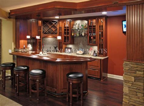 Superb Basement Bar #4 Corner Basement Bar Ideas
