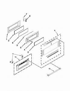 Upper Door Parts Diagram  U0026 Parts List For Model