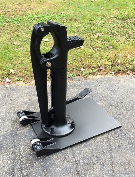 foot vise rejuvenation  base fabrication vises  forge iron