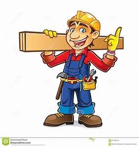 Cartoon Builder Idea Stock Vector  Illustration Of Mascot