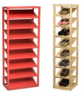 vertical shoe rack jeri s organizing decluttering news stashing the shoes
