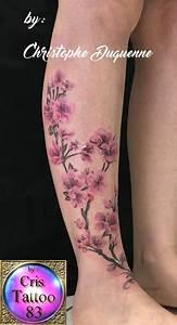 Tattoo Fleur De Cerisier : tatouage branche cerisier cristattoo83 ~ Melissatoandfro.com Idées de Décoration