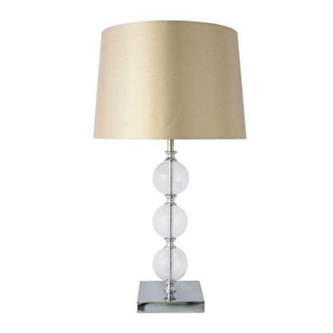 3 glass l table lights dunelm soft furnishings