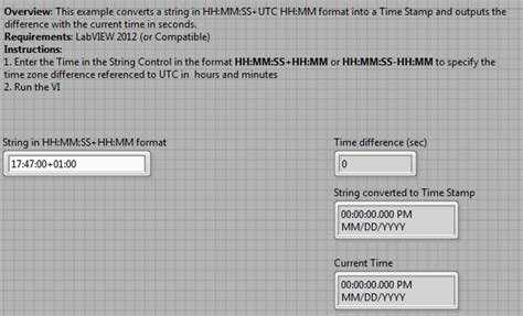 convert string timestamp calculate time difference current