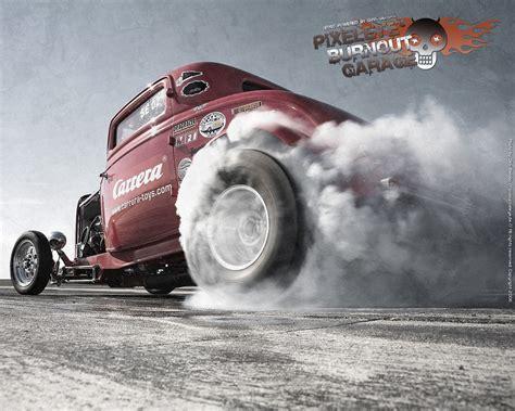 Hot Rod Burnout By Dirkbehlau 519x415