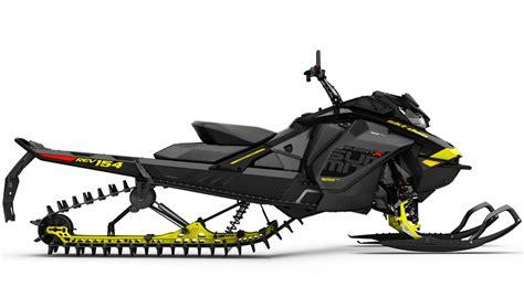 Ski-Doo Offers New 850cc Mountain Snowmobile for 2017 ...